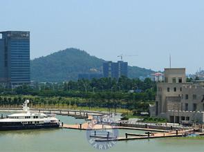 Nansha Yacht Club in Guangzhou