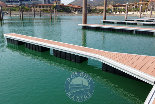 Aluminum Alloy Small Boat Dock System